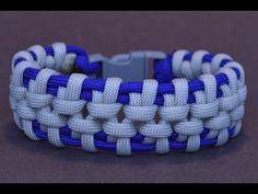 "Make the ""Hanging Bridge"" Paracord Survival Bracelet - BoredParacord - YouTube"