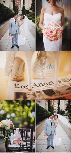 """i like the """"I Do"""" on the soles of her heals"""