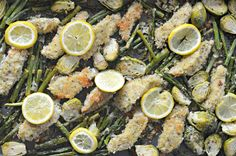 Sheet pan meals are all the rave lately and this recipe for sheet pan Lemon Garlic Chicken is no exception! Keep reading to find out how to make it.