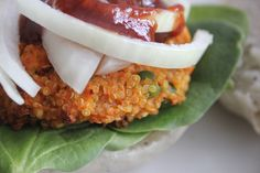 Quinoa Sweet Potato Burger |