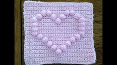how to make 3d crochet stitch baby blanket - YouTube