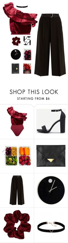 """HELLO 2018"" by blissbell ❤ liked on Polyvore featuring Johanna Ortiz, H&M, Weekend Max Mara, Howard Miller and Astrid & Miyu"