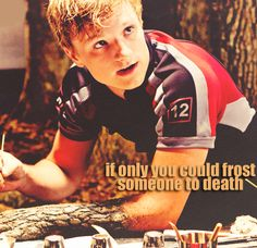 If only you could frost someone to death.