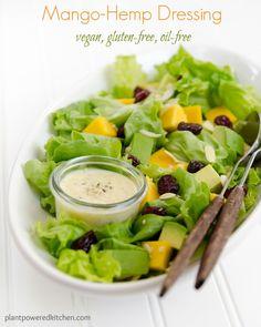 Creamy Orange Salad Dressing: Oil-Free Sauces and Vinaigrettes Whole Food Recipes, Vegan Recipes, Cooking Recipes, Vegan Sauces, Salad Recipes, Free Recipes, Dinner Recipes, Vegan Meals, Vegan Gluten Free