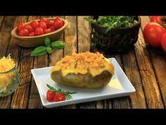 Das ist keine Ofenkartoffel wie jede andere. Ihre Füllung kommt direkt aus der Gourmetküche.