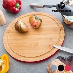 TABLA DE COCINA CIRCULAR DE BAMBÚ TAKETOKIO