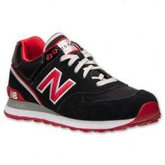 new balance negro rojo