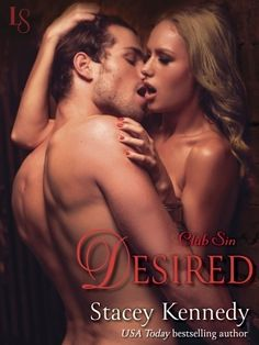"""#CoverReveal Desired by Stacey Kennedy Club Sin series, #3 