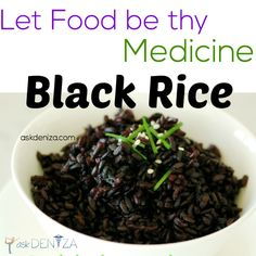 """When China was ruled by an emperor, only he was allowed to eat this type of rice, also called """"forbidden"""" rice. This is probably the most nutritient-dense food you can find on the planet."""