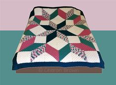 This listing is for a free crochet along (CAL) for a Carpenter Wheel Afghan. The pattern pieces are posted and displayed under the pinned post of the event.