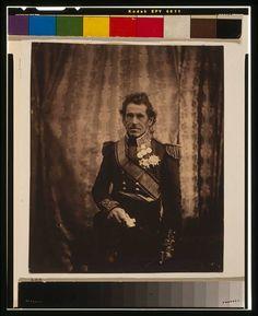 Lieutenant General Sir De Lacy Evans,G.C.B.,M.P.,1855,Crimean War,Roger Fenton