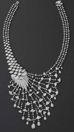 Cartier Diamond & Platinum Necklace! #ArtDeco #Cartier
