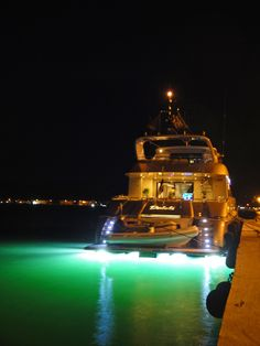 Luxury yacht moored at the port of #Nafplio, #Peloponnese