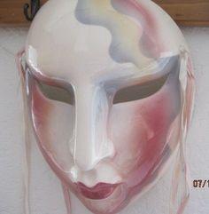 Clay Art Ceramic Mask of San Francisco Allegra Collectibles