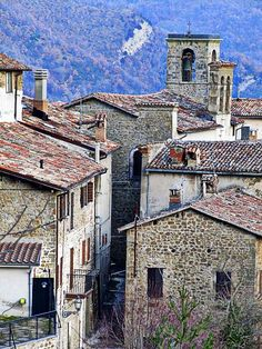 Marche - the region in central Italy delightful medieval fortresses, churches, olive groves, beautiful mountain scenery and sandy beaches. Medieval Fortress, Sandy Beaches, Chill, Scenery, Europe, Mansions, House Styles, Winter, Beautiful