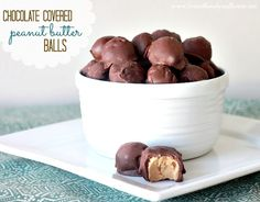 Love Of Family & Home: Chocolate Covered Peanut Butter Ball Recipe
