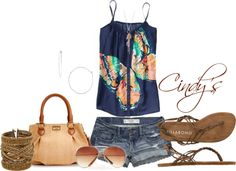 Summer Days, created by cindycook10 on Polyvore