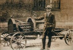 Charles Patterson: escaped slave from West Virginia, launched his technically innovative auto company in Ohio.