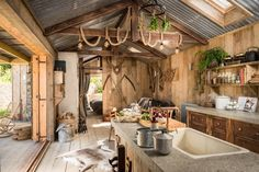 9 luxury cabin alternatives to Soho Farmhouse Cabin Homes, Log Homes, Luxury Cabin, Cabin Kitchens, Cabin Interiors, Soho Farmhouse Interiors, Cabins And Cottages, Cottage Living, Rustic Charm