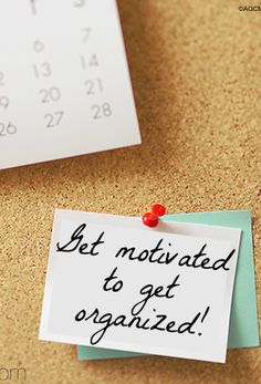 Tips for getting organized when you aren't motivated - Ask Anna