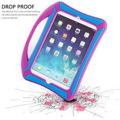 Hot Pink For Apple iPad Mini Retina Display Candy Hard Shell Case trim w//Clear