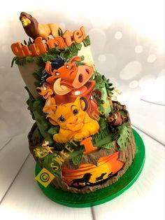 Lion King Theme, Lion King Party, Lion King Birthday, Baby Boy First Birthday, Baby Birthday Cakes, 2nd Birthday Party Themes, Safari Birthday Party, Baby Party Favors, Lion King Baby Shower