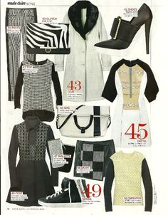 Yigal sweater seen in US Marie Claire!!