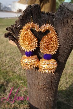 Indian Wedding Gifts - Wedding around the corner? Perfect gift for your sister | Gotta Earings | #wedmegood #weddinggift #gotta #indianjewelry