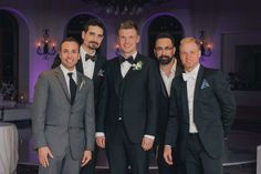 Backstreet Boys at the Nick's wedding (April 12th, 2014)
