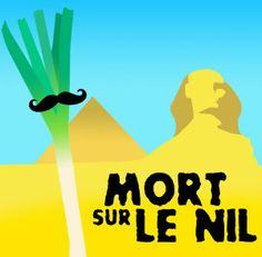 Hercule Poireau : Mort sur le nil #UnLegumeDansUnFilm #Florette #Veggister