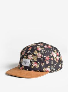 f21a27e82aa Profound Aesthetic- Portland Rose Five Panel Floral Hat