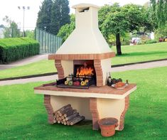 The Joys of a Family Barbecue Grilled Pizza, Bbq Grill, Terrazzo, Gazebo, Backyard, Outdoor Structures, Bird, Outdoor Decor, House