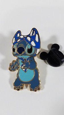 2007 Disney Stitch with Bikini Top on his Head Pin