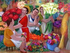 Resultado de imagen para pintura naif aniko szabo