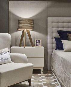 Quarto do casal!! #tonsneutros #ambientes #designdeinteriores #quartodocasal #design #interiores ...