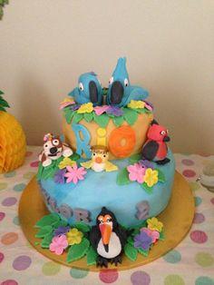 Rio cake Rio Cake, 2nd Birthday, Birthday Ideas, Bird Cakes, Desserts, Food, Tailgate Desserts, Deserts, Meals
