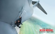 Mission Impossible — Rogue Nation is an exciting summer blockbuster. It features a fun cast, exhilarating action sequences and stunts, and Tom Cruise running. He doesn't run in this film a Batman Vs, Superman, Mission Impossible Rogue, Movie Place, Rogue Nation, Inspirational Quotes Wallpapers, English Movies, Movie Wallpapers, Full Movies Download