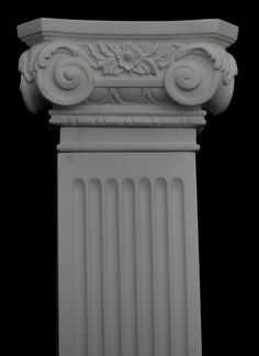 Ionic pilaster.