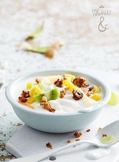 Granola & Fersk frukt - Se flere spennende yoghurtvarianter på yoghurt.no - Et inspirasjonsmagasin for yoghurt.