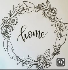 Coronas, - Lilly is Love Hand Embroidery Patterns, Vintage Embroidery, Embroidery Stitches, Embroidery Designs, Flower Embroidery, Embroidery Art, Machine Embroidery, Stylo Art, Wreath Drawing