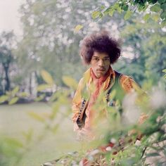 Jimi Hendrix, 1967. Photo by Fiona Adams.