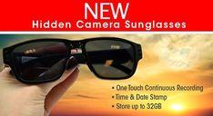 Lawmate HD Covert Hidden Camera Sunglasses    http://stuntcams.com/shop/lawmate-720p-covert-hidden-camera-sunglasses-p-1292.html