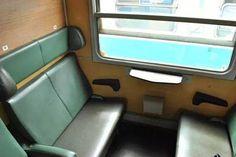 Vonatfülke -  sedačky vo vlakovom kupé