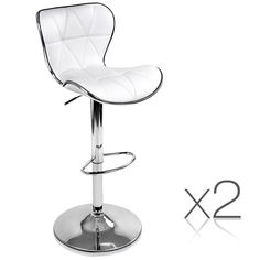 Just arrived , Set of 2 PU Leath... ,  Check it out here http://stylyst.com.au/products/set-of-2-pu-leather-kitchen-bar-stool-white-4045?utm_campaign=social_autopilot&utm_source=pin&utm_medium=pin   Use code 10FF at the checkout & get 10 off with Free shipping