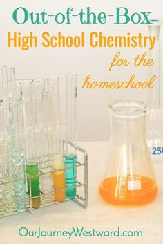 How To Teach Out-of-the-Box Homeschool High School Chemistry This homeschool high school chemistry course uses several unique resources to fill an entire year. It's lighter on mathematics for students who don't thrive on math, but need a chemistry course. High School Chemistry, Teaching Chemistry, Chemistry Labs, Chemistry Quotes, Homeschool High School, Homeschool Curriculum, Catholic Homeschooling, Homeschooling Resources, Science Resources