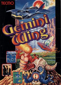 The Arcade Flyer Archive - Video Game Flyers: Gemini Wing, Tecmo