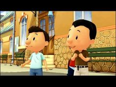 Le Petit Nicolas - Chantal  (50) French Kids, French Class, French Education, Teaching French, Video Clip, Mickey Mouse, Classroom, Animation, Songs
