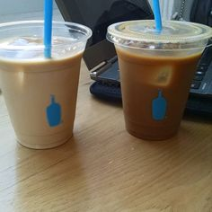 His&Hers Anniversary Blue Bottle with my love! by cpaandrew