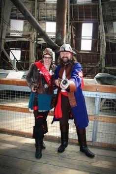 Steampunk pirate chatham