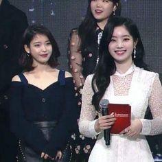 IU&Dahyun 180214 Gaon Music Awards